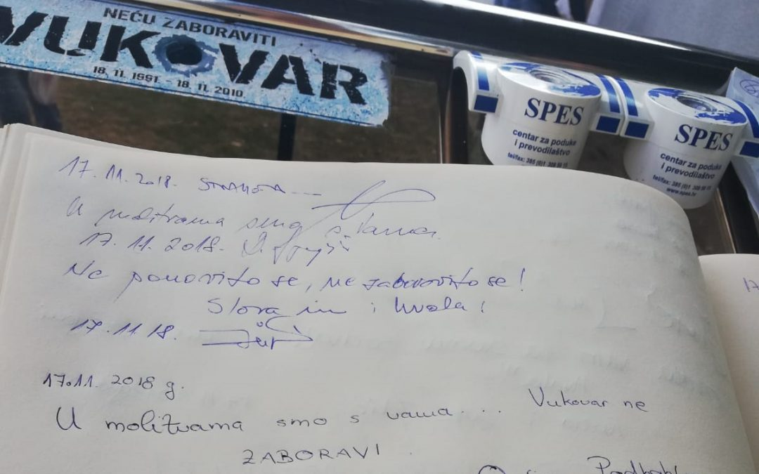 Općina Podbablje odaje počast  Vukovaru i Škabrnji