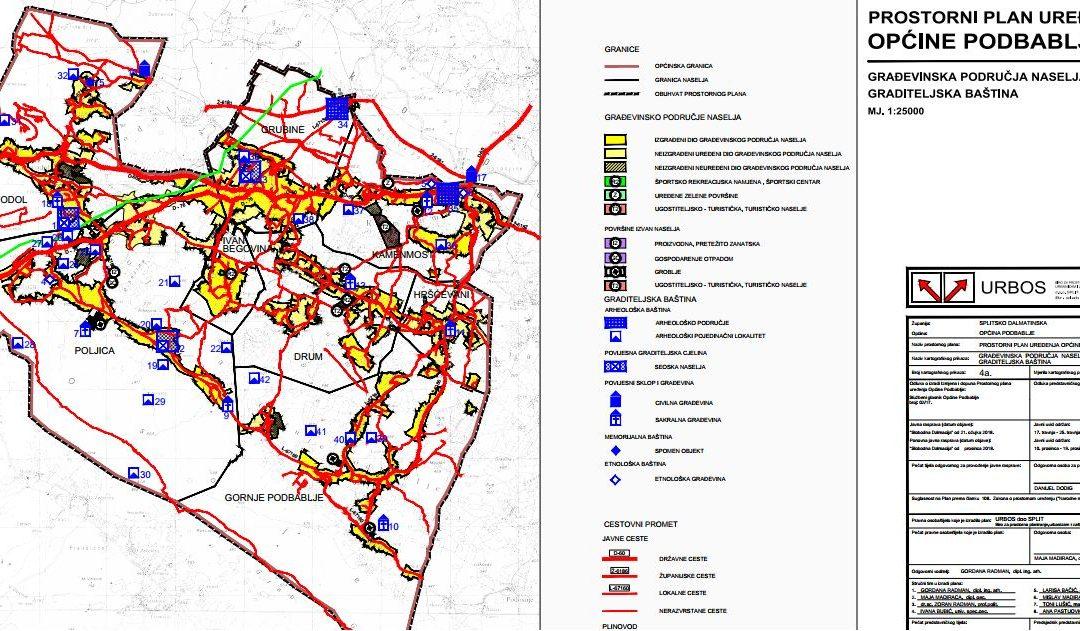 Izvješće o ponovnoj javnoj raspravi Prostornog plana uređenja Općine Podbablje