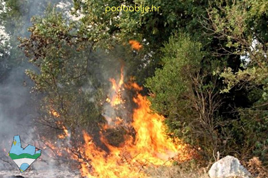 Opasnost od nekontroliranog paljenja niskog raslinja